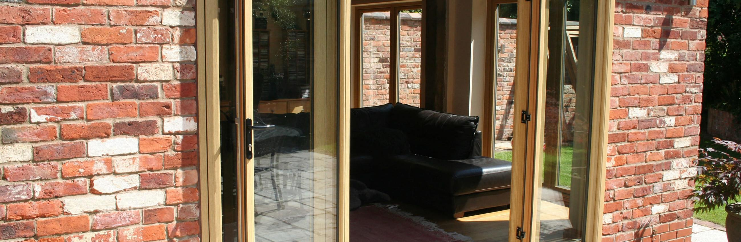 Timber Double Glazed Doors Edinburgh